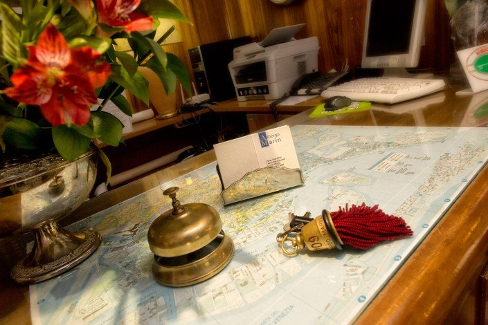 Reception Albergo Marin Venice