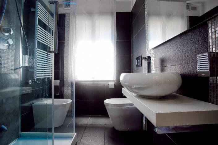 Luxury Bathroom Albergo Marin